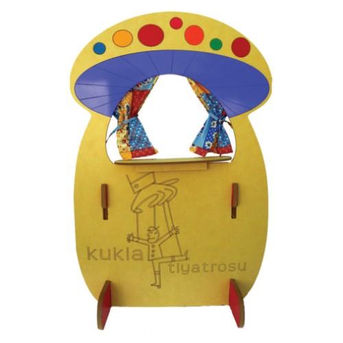 Renkli Mantar Modelli Kukla Köşesi modelleri, Renkli Mantar Modelli Kukla Köşesi fiyatı, anaokulu Kukla Köşeleri fiyatları, anasınıfı Kukla Köşeleri modelleri görselleri ve resimleri, anaokulu kreş malzemeleri