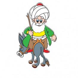 Nasreddin Hoca ve Eşşeği Modelli Kukla