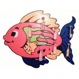 Pembe Balık Modelli Müzik Köşesi