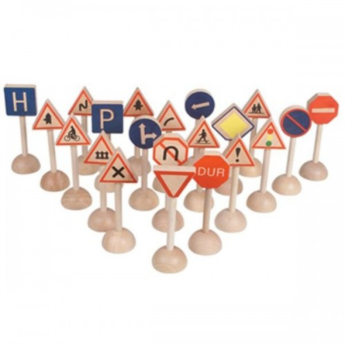 Ahşap Trafik Tabela Seti modelleri, Ahşap Trafik Tabela Seti fiyatı, anaokulu Trafik Köşesi fiyatları, anasınıfı Trafik Köşesi modelleri görselleri ve resimleri, anaokulu kreş malzemeleri
