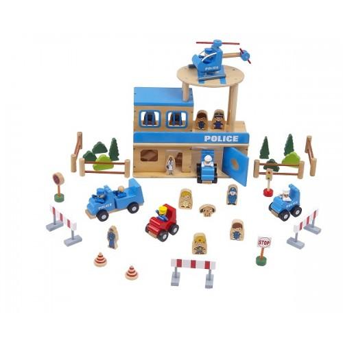 Ahşap Polis Merkezi Seti modelleri, Ahşap Polis Merkezi Seti fiyatı, anaokulu Trafik Köşesi fiyatları, anasınıfı Trafik Köşesi modelleri görselleri ve resimleri, anaokulu kreş malzemeleri
