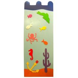 Denizaltı Figürlü Kalorifer Kapama