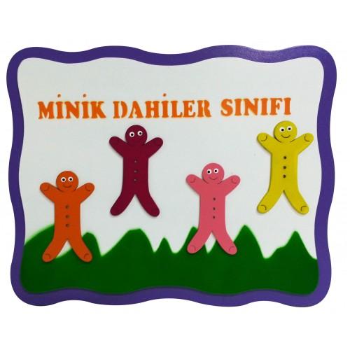 Minik Dahiler Figürlü Sınıf Tabelası modelleri, Minik Dahiler Figürlü Sınıf Tabelası fiyatı, anaokulu Kapı Giydirme fiyatları, anasınıfı Kapı Giydirme modelleri görselleri ve resimleri, anaokulu kreş malzemeleri