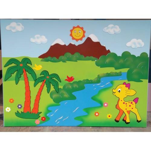 Ceylan Figürlü Kompozisyon Çalışması modelleri, Ceylan Figürlü Kompozisyon Çalışması fiyatı, anaokulu Kapı Giydirme fiyatları, anasınıfı Kapı Giydirme modelleri görselleri ve resimleri, anaokulu kreş malzemeleri