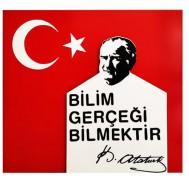 Atatürk Figürlü Tabela