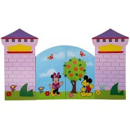Mickey-Minnie Mouse Figürlü Kapı Giydirme