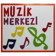 Müzik Merkezi Figürlü Tabela