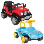 Pedallı ve Pedalsız Arabalar