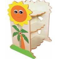Güneş Figürlü Kitaplık