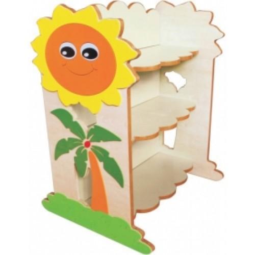 Güneş Figürlü Kitaplık modelleri, Güneş Figürlü Kitaplık fiyatı, anaokulu Kitaplıklar fiyatları, anasınıfı Kitaplıklar modelleri görselleri ve resimleri, anaokulu kreş malzemeleri