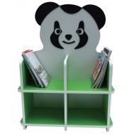 Panda Figürlü Kitaplık