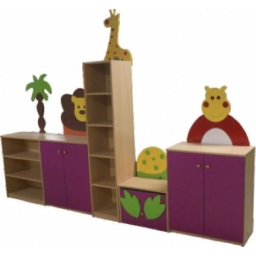 Hayvan Figürlü Kitaplık modelleri, Hayvan Figürlü Kitaplık fiyatı, anaokulu Dolaplar fiyatları, anasınıfı Dolaplar modelleri görselleri ve resimleri, anaokulu kreş malzemeleri