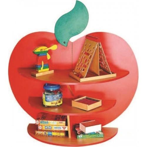 Elma Kitaplık modelleri, Elma Kitaplık fiyatı, anaokulu Kitaplıklar fiyatları, anasınıfı Kitaplıklar modelleri görselleri ve resimleri, anaokulu kreş malzemeleri