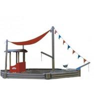 Tekne Modelli Kum Havuzu