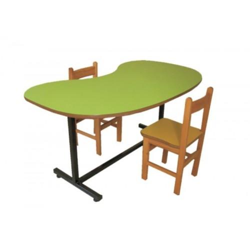 Ayarlanabilir Fasulye Masa modelleri, Ayarlanabilir Fasulye Masa fiyatı, anaokulu Masalar fiyatları, anasınıfı Masalar modelleri görselleri ve resimleri, anaokulu kreş malzemeleri
