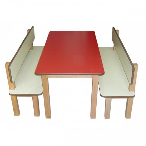 Banklı Yemek Masası modelleri, Banklı Yemek Masası fiyatı, anaokulu Masalar fiyatları, anasınıfı Masalar modelleri görselleri ve resimleri, anaokulu kreş malzemeleri