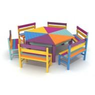 Renkli Aktivite Masası