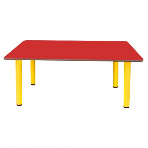 60x120 Ahşap Anaokulu Masası