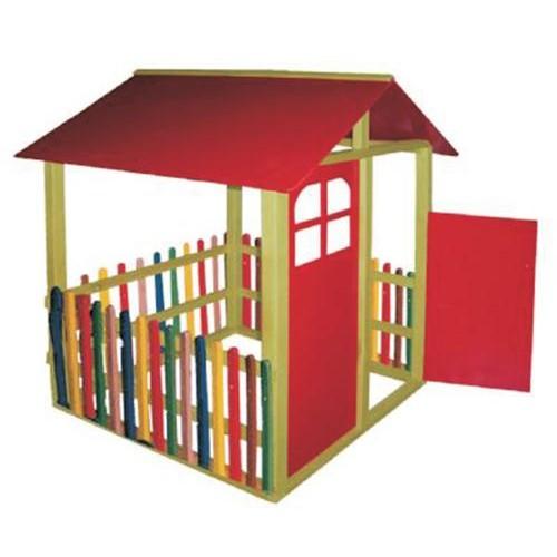 Renkli Çitli Oyun Evi modelleri, Renkli Çitli Oyun Evi fiyatı, anaokulu Oyun Evleri fiyatları, anasınıfı Oyun Evleri modelleri görselleri ve resimleri, anaokulu kreş malzemeleri