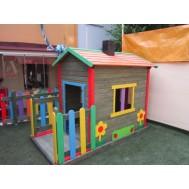 Figürlü Çocuk Oyun Evi