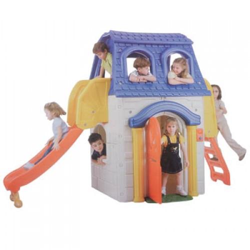 Kaydıraklı Oyun Evi modelleri, Kaydıraklı Oyun Evi fiyatı, anaokulu Oyun Evleri fiyatları, anasınıfı Oyun Evleri modelleri görselleri ve resimleri, anaokulu kreş malzemeleri
