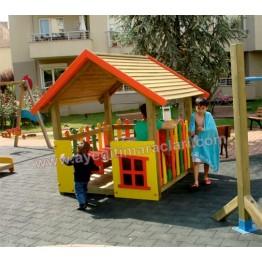 Renkli Ev Modelli Oyun Evi