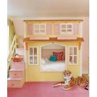 Çift Katlı Yataklı Oyun Evi