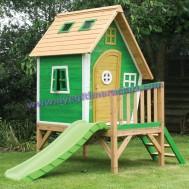 Yeşil Renkli Oyun Evi