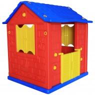 King Hause İki Kapılı Plastik Oyun Evi