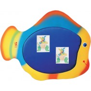 Rengarenk Balık Figürlü Sınıf Panosu