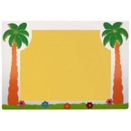 Palmiye Figürlü Sınıf Panosu