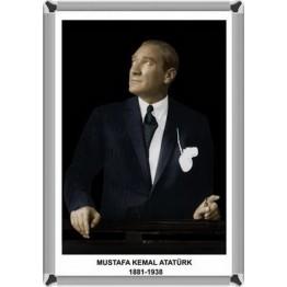 Atatürk Resmi-Metal