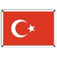 Türk Bayrağı-Metal