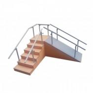 Egzersiz Kürsüsü - Fizik Tedavi Rampalı Yürüme Merdiveni