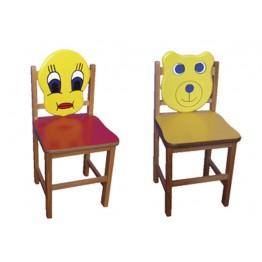 Figürlü Sandalye