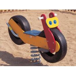 Yarış Motoru Modelli Çocuk Zıpzıp