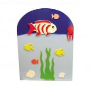 Deniz Canlıları Figürlü Lavabo Bölmesi
