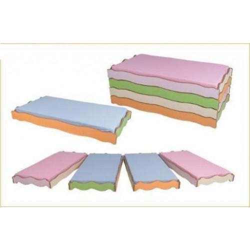 Dalgalı Kampet modelleri, Dalgalı Kampet fiyatı, anaokulu Kampet - Yatak fiyatları, anasınıfı Kampet - Yatak modelleri görselleri ve resimleri, anaokulu kreş malzemeleri