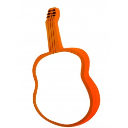 Gitar Figürlü Yazı Tahtası