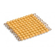 100 LÜ ALTIN BOCUK SETİ 45 ADET - 45 GOLDEN BEAD HUNDRED SQUARES