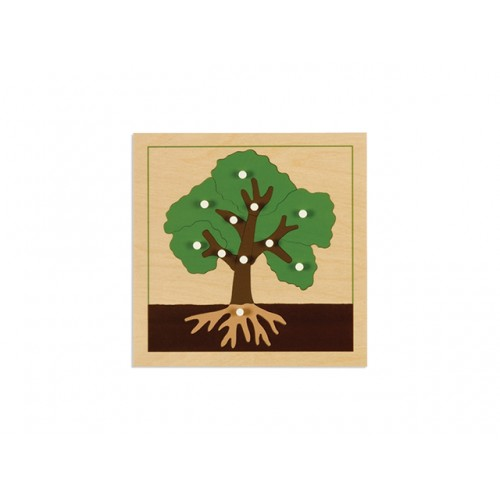 AĞAÇ PAZIL - TREE PUZZLE (PLYWOOD NEW)