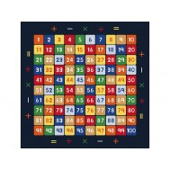 MATHEMATICS 200x290 YEŞİL BUKLE 3 mm