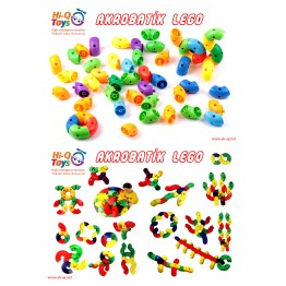 AKROBATİK LEGO (122 PARÇA)
