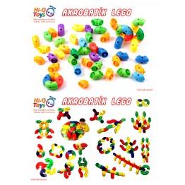 AKROBATİK LEGO (POŞETLİ) 61 PARÇA