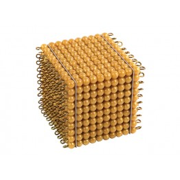 ALTIN RENKLİ BONCUKLAR 1000 Lİ KÜP - GOLDEN BEAD THOUSAND CUBE