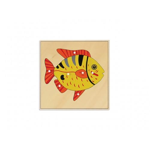 BALIK PAZIL - FISH PUZZLE (PLYWOOD - MATTERIAL)