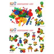 CONSTRACTION LEGO 114 PARÇA