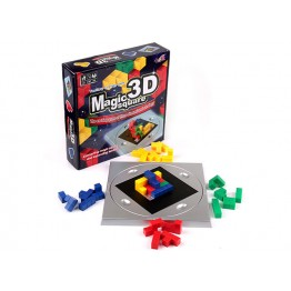 3D MAGIC SQUARE (SİHİRLİ KÜPLER)