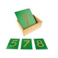 KABARTMA RAKAMLAR - SANDPAPER NUMBERS WITH BOX