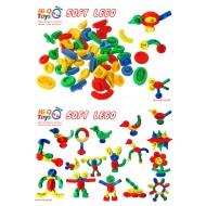 SOFT LEGO (POŞETLİ) 53 PARÇA